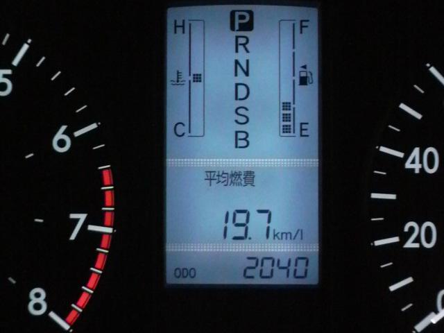 プレミオの燃費